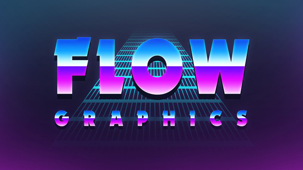 80's Retro Text Effect | Photoshop Tutorial