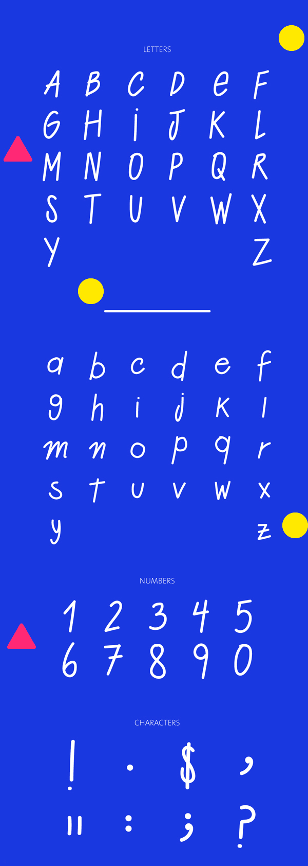 Alzada Street Font Letters