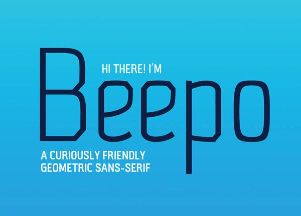 Beepo Free Font