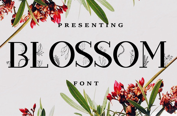 Blossom Free Font