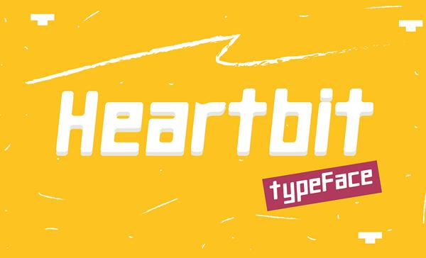 Heartbit Free Font