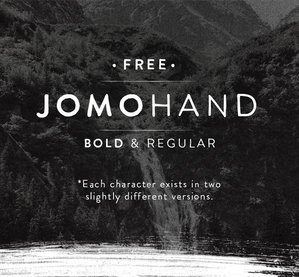 Jomohand Free Font