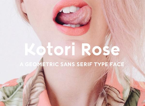 Kotori Rose Free Font