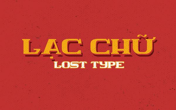 Lac Chu (Lost Type) Free Font