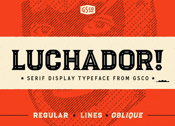 Luchador Free Font