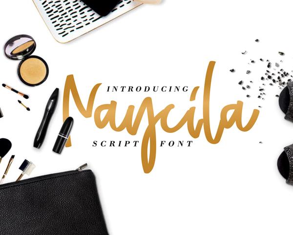 Naycila Script Free Font