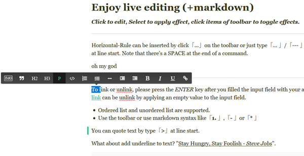 12 Diversified Yet Free To Use WYSIWYG Text Editors - iDevie