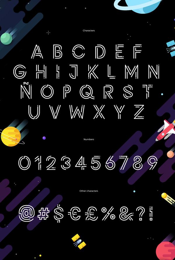 Potra Font Letters