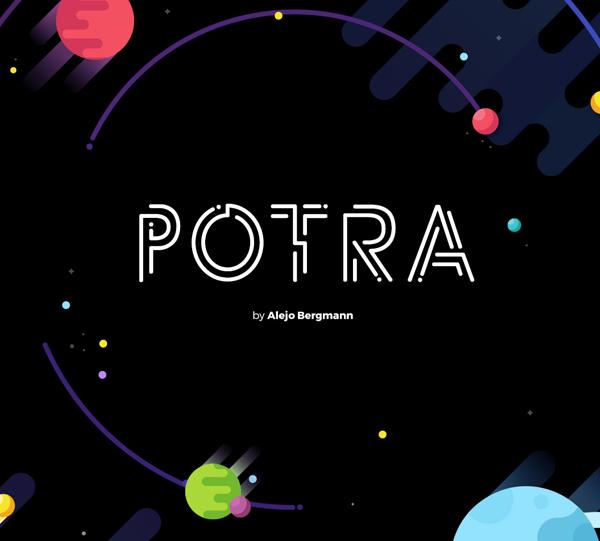Potra Free Font