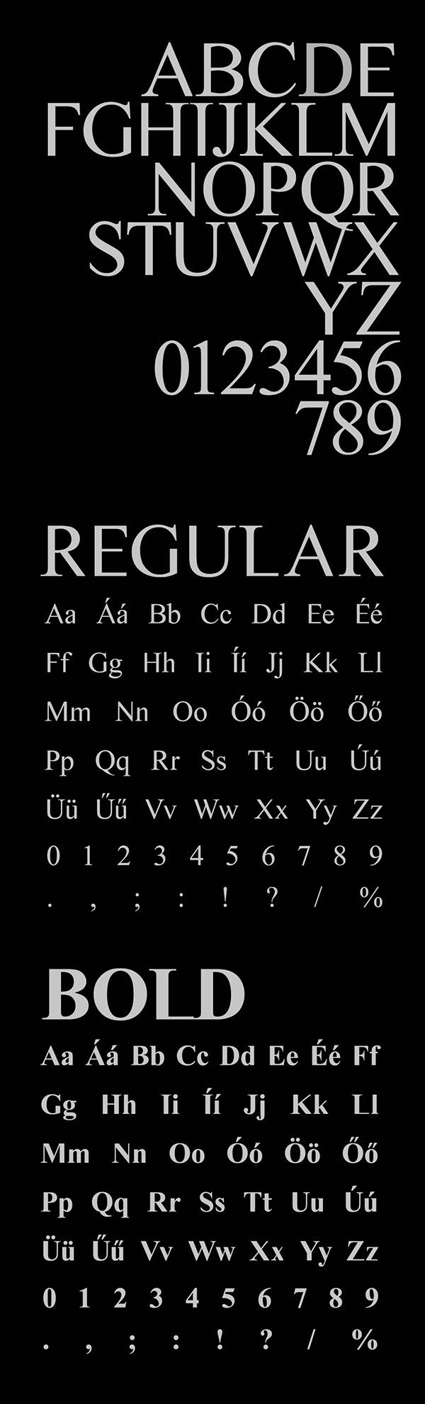 Sometimes Font Letters