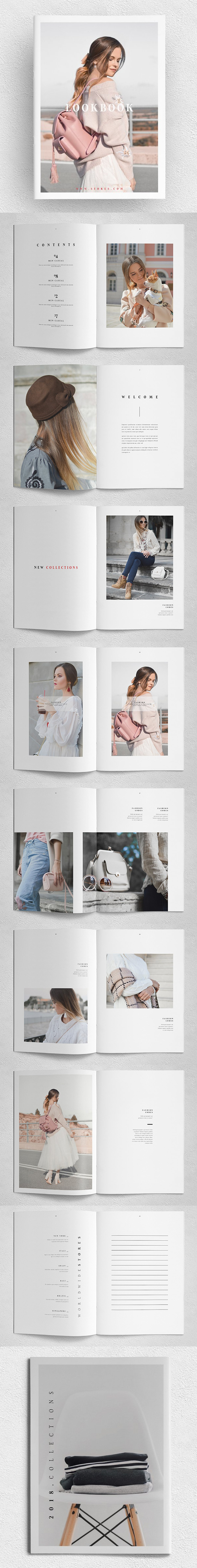 Amazing Lookbook Brochure Template
