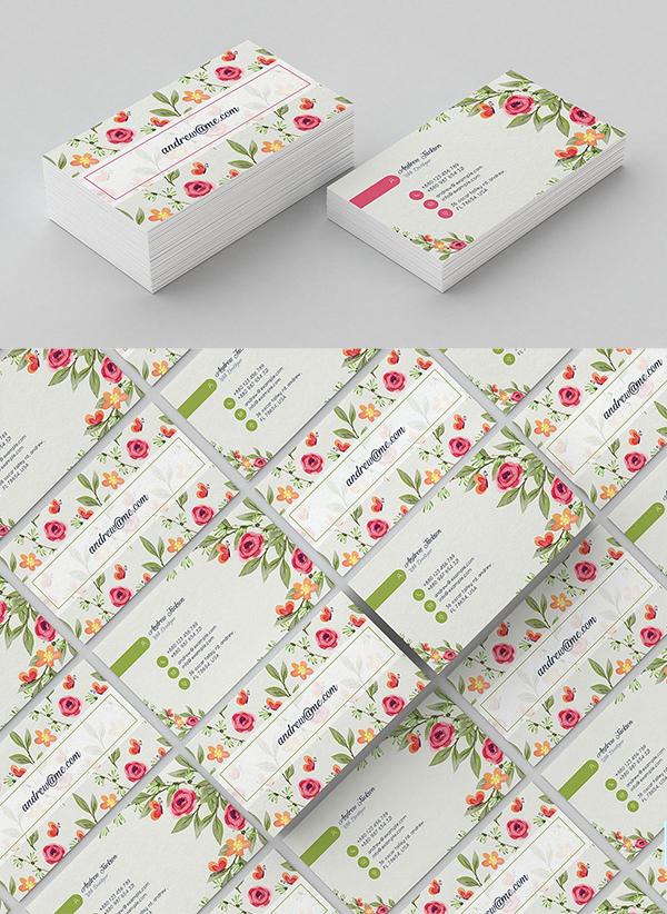 Modern Business Card Psd Templates 30 Print Ready Design Idevie