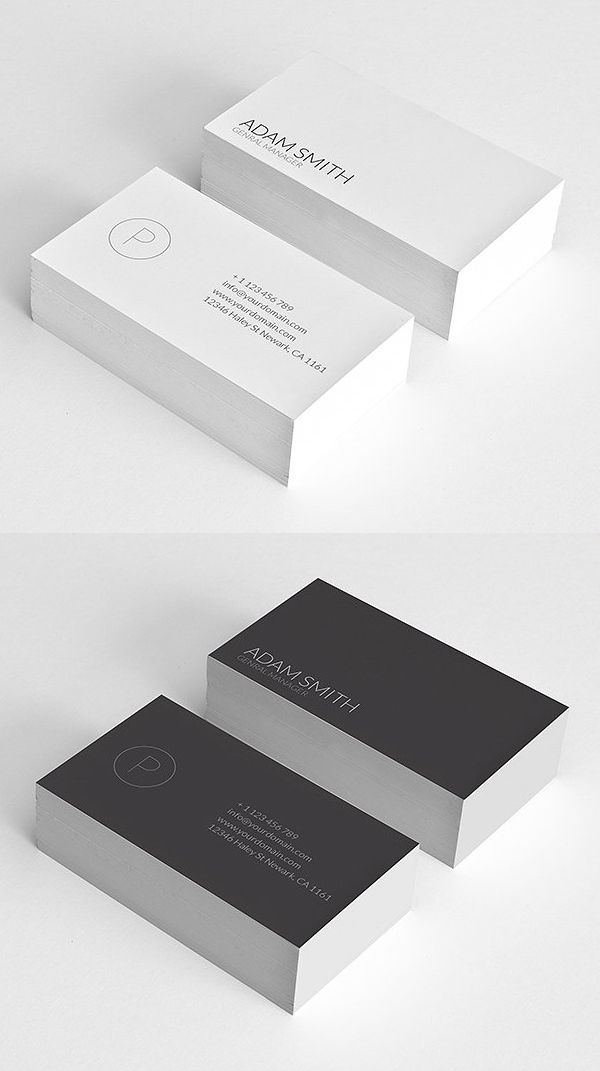 Simple Minimal Busines Card Template