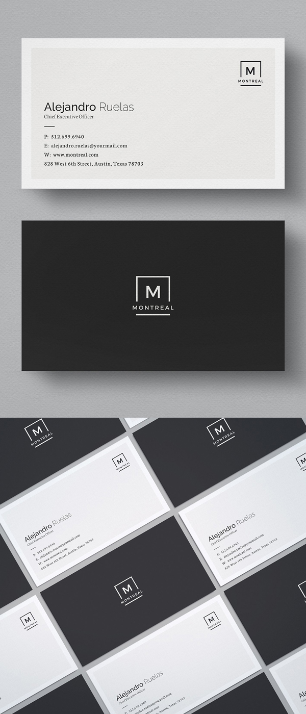 Simple Elegant Business Card Template