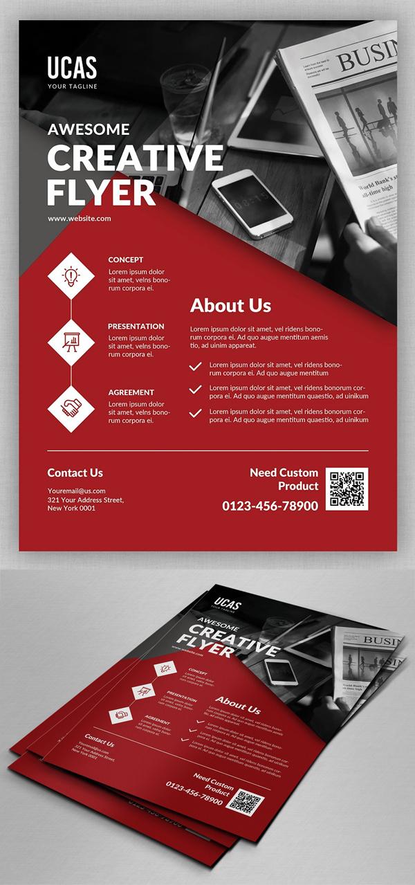 Creative Business Flyer Template Design