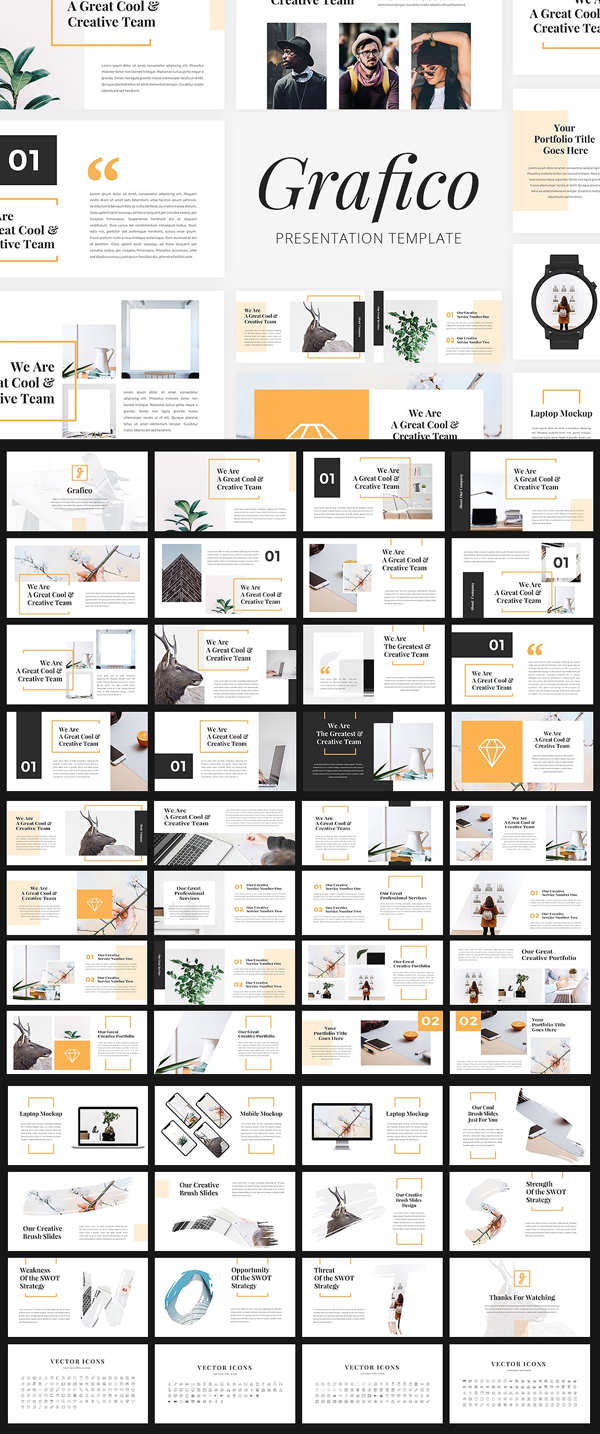 Creative Free PowerPoint Prsentation Templates
