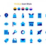 Vivid.js – A JS library serving a set of 90+ SVG icons
