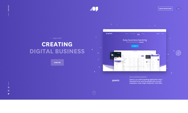 Web Design Agencies Websites – 27 Interactive Examples - 6