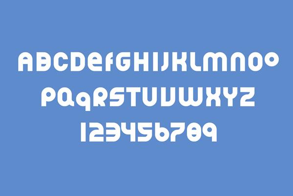 Akrotiri Font Letters