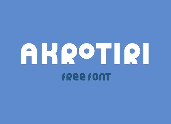 Akrotiri Free Font