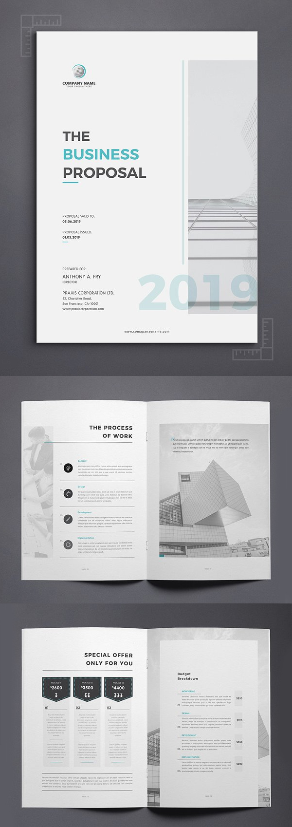 Professional Business Proposal Templates Design - 1
