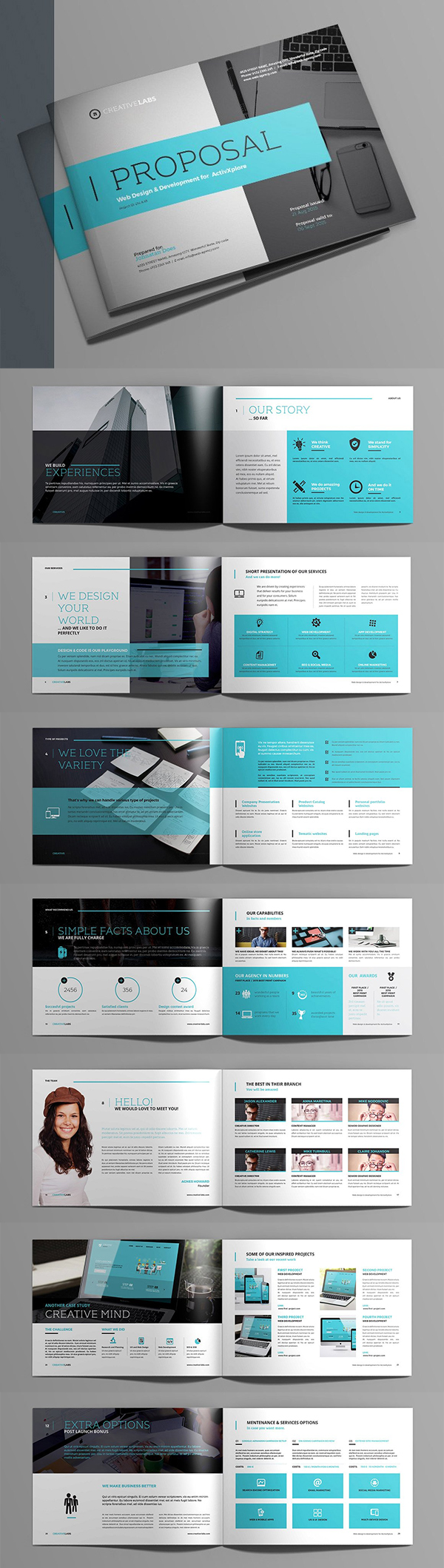 Professional Business Proposal Templates Design - 11