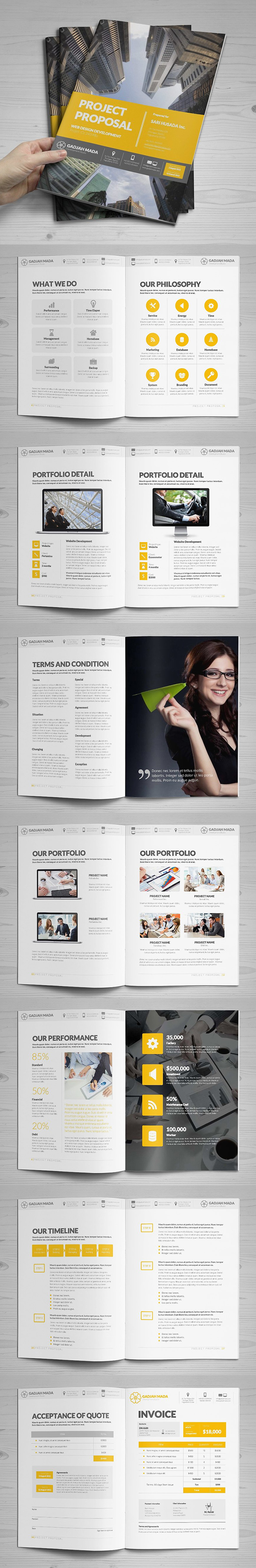 100 Professional Corporate Brochure Templates - 92
