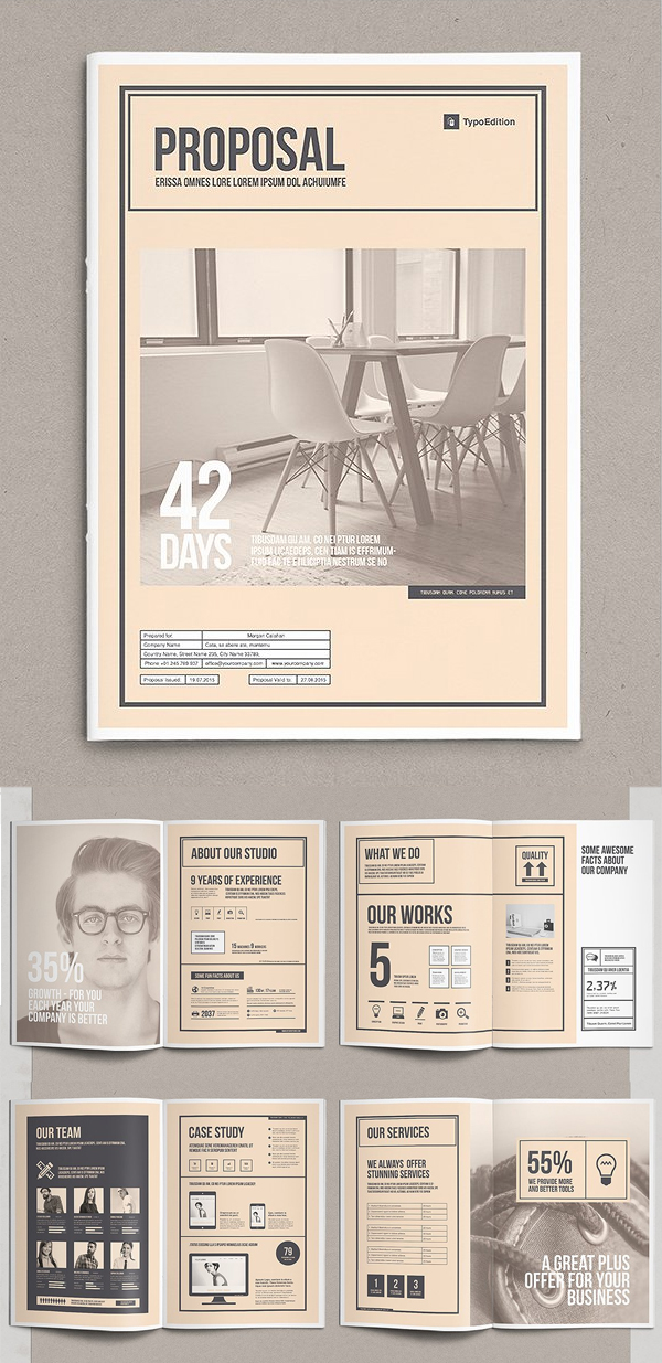 Professional Business Proposal Templates Design - 17