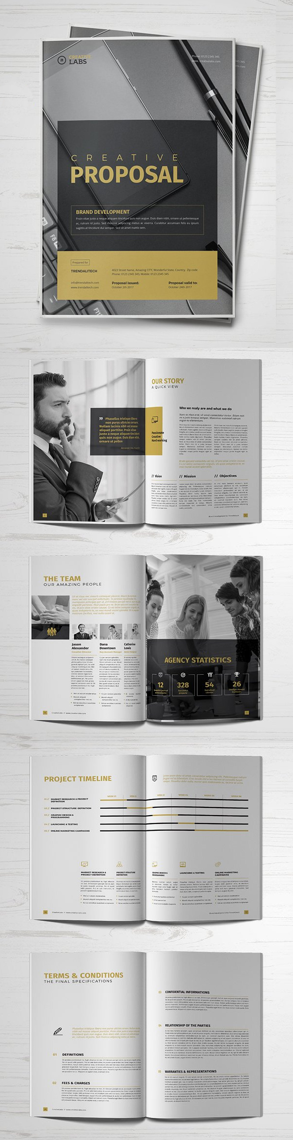 Professional Business Proposal Templates Design - 18