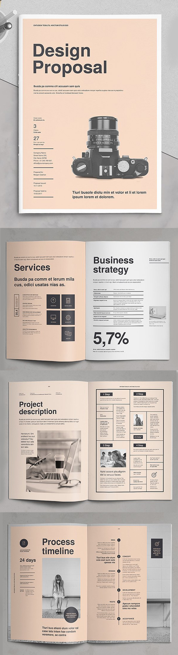 Professional Business Proposal Templates Design - 2