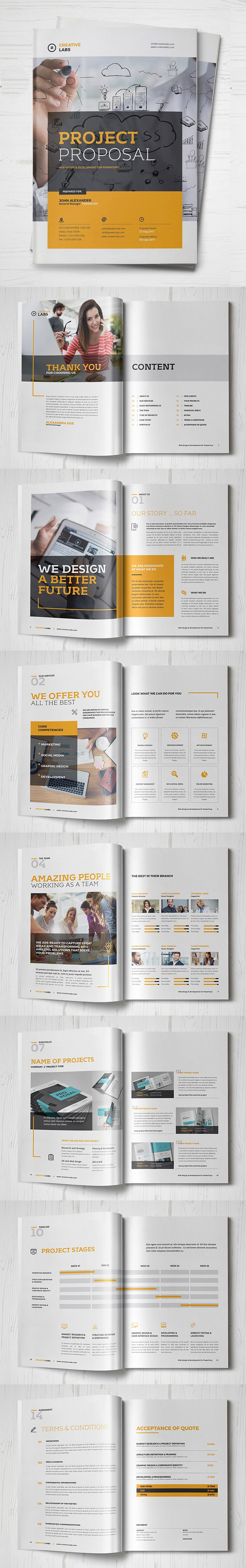 Professional Business Proposal Templates Design - 20