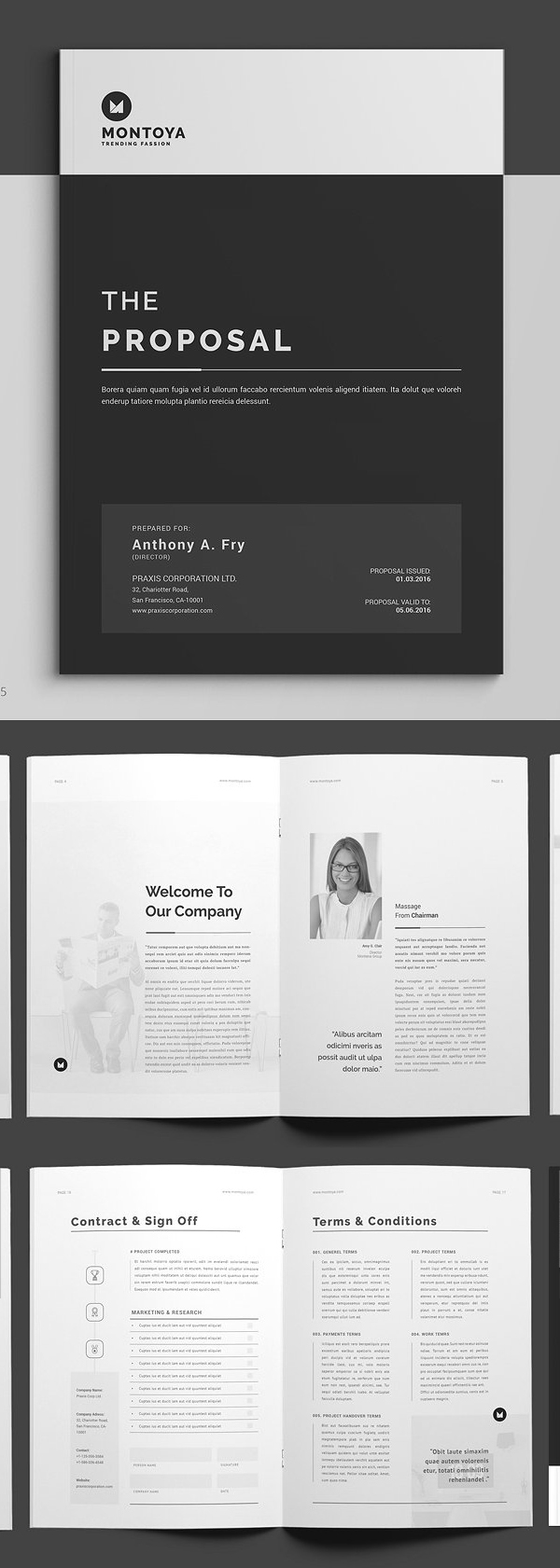 Professional Business Proposal Templates Design - 30