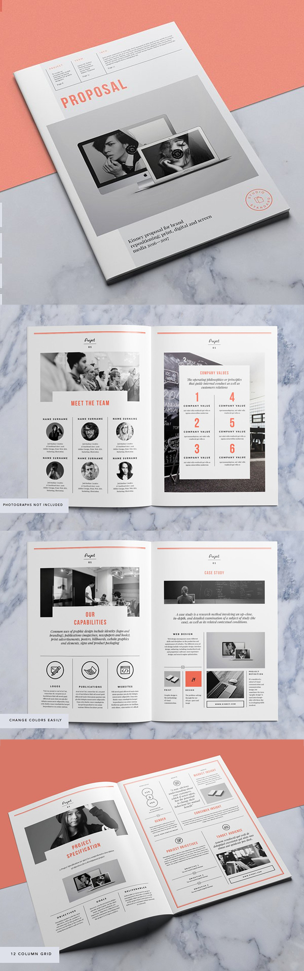 Professional Business Proposal Templates Design - 6