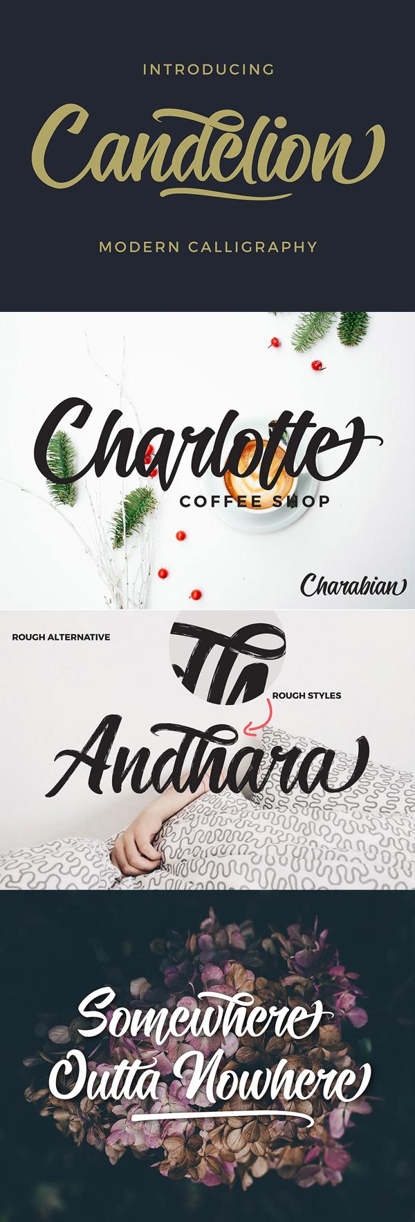 Candelion Free Script Font