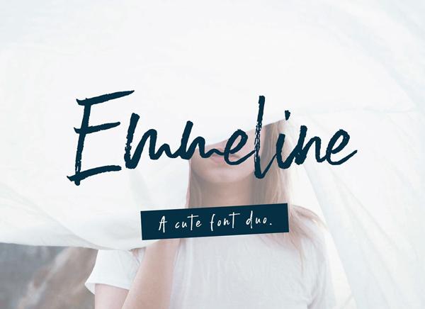 Emmeline Free Font