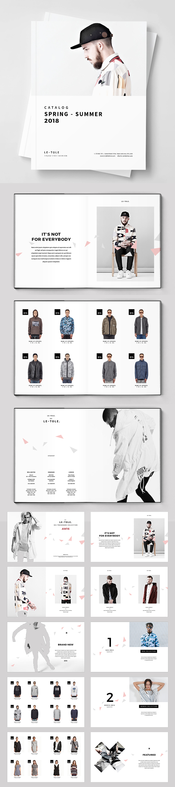 100 Professional Corporate Brochure Templates - 14