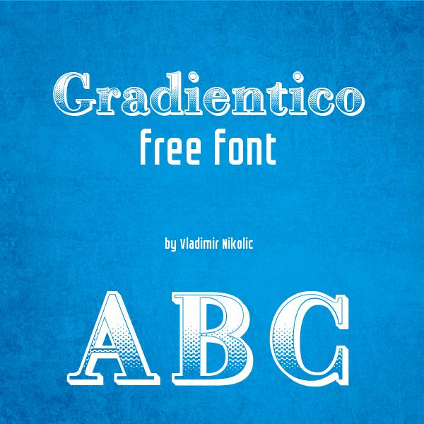 Gradientico Free Font