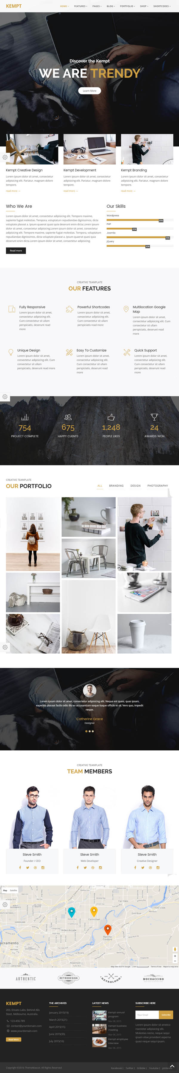 Creative Portfolio for Creative Agency