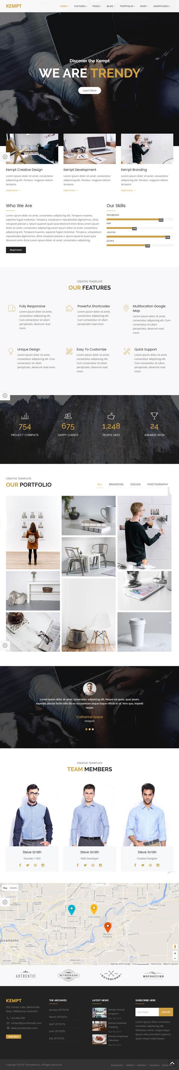 Creative Portfolio for Creative Agency