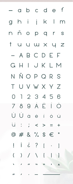 Luam Font Letters