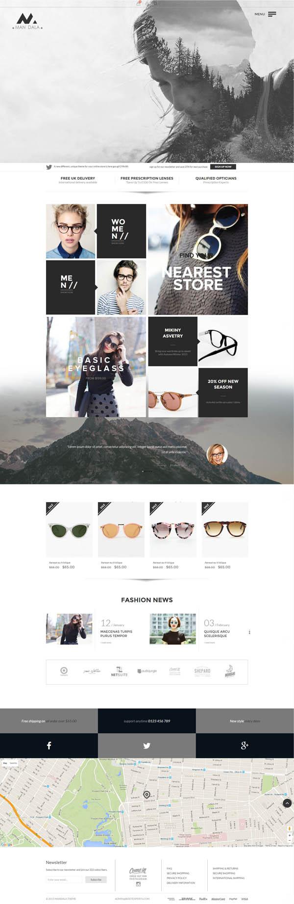 Mandala - Multipurpose eCommerce HTML5 Template