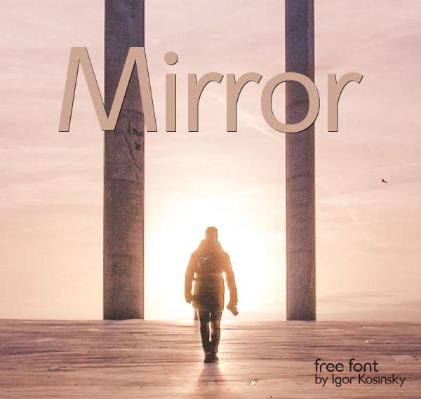 Mirror Free Font