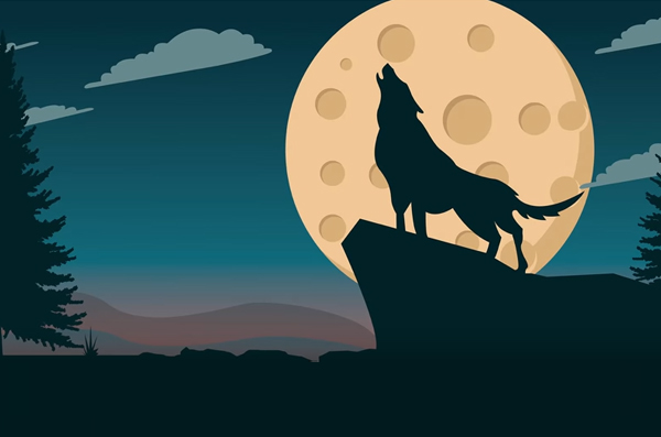 How to Create Ultimate Moon Wolf Illustration in Illustrator