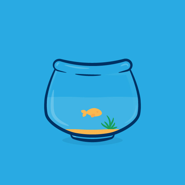 Create a Simple Fishbowl Illustration in Adobe Illustrator