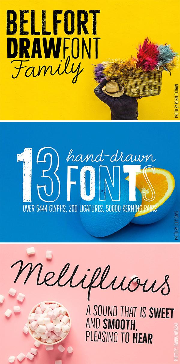 Bellfort Draw Font