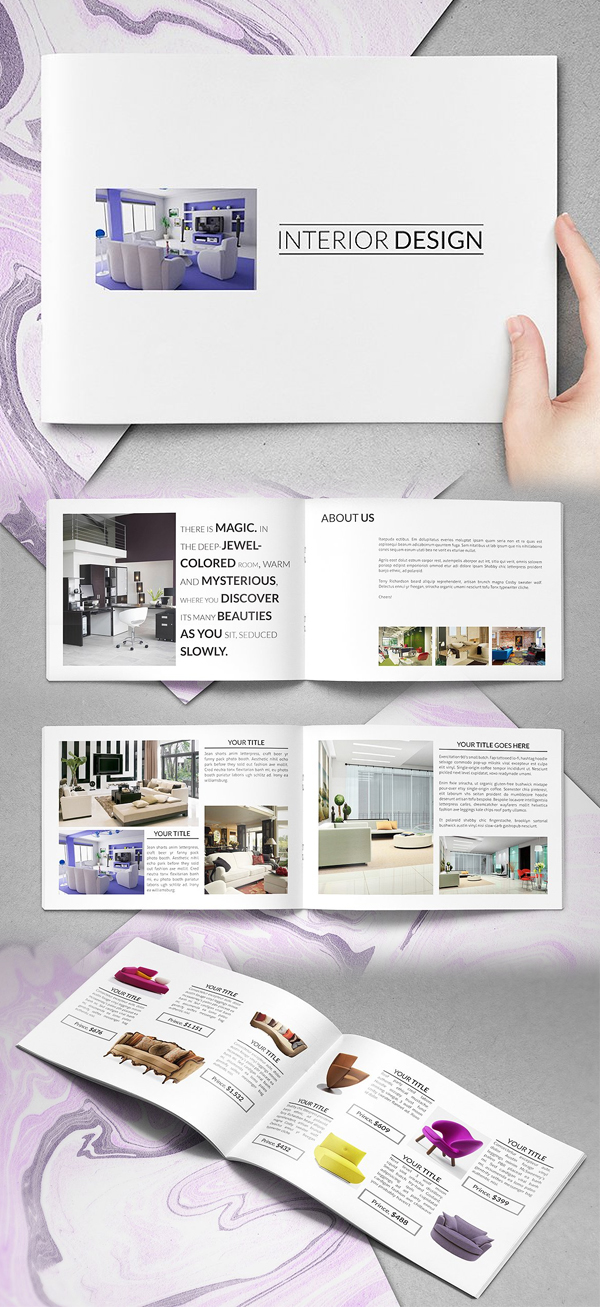 100 Professional Corporate Brochure Templates - 47
