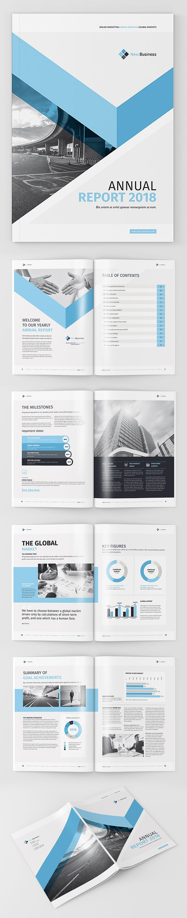 100 Professional Corporate Brochure Templates - 37