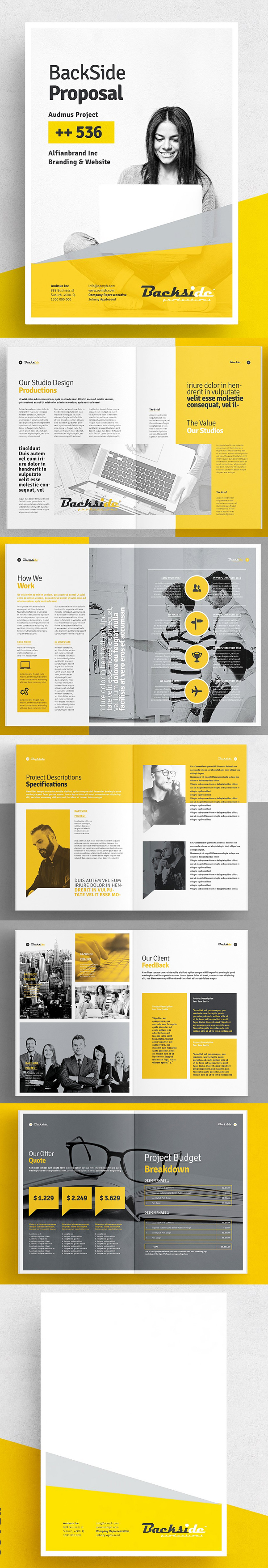 100 Professional Corporate Brochure Templates - 26