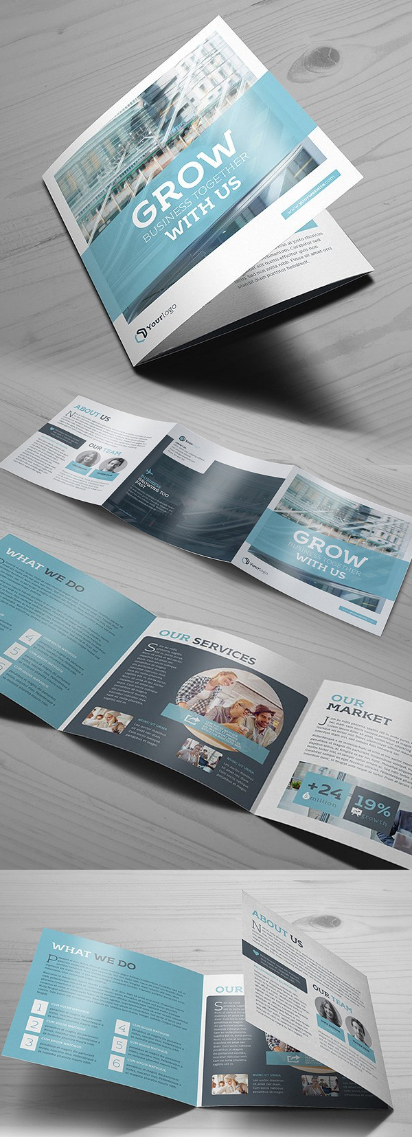 100 Professional Corporate Brochure Templates - 28