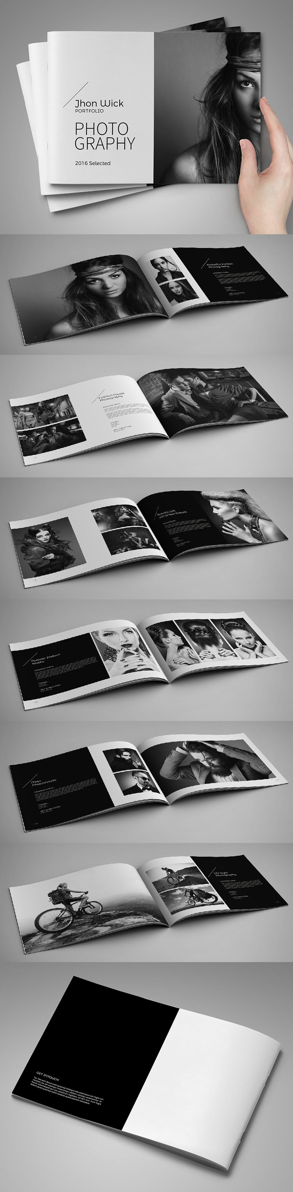 100 Professional Corporate Brochure Templates - 29
